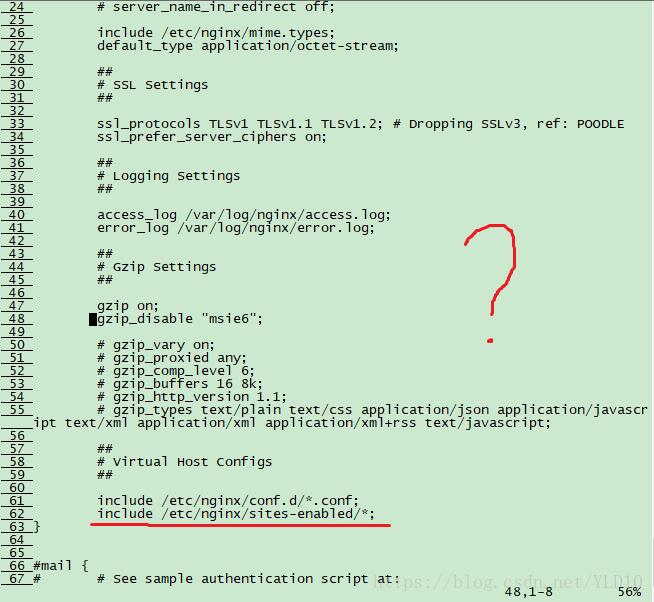 详解如何修改nginx的默认端口
