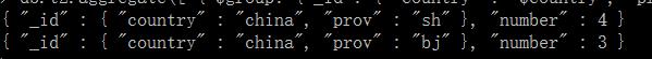 MongoDB聚合group的操作指南